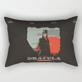 Dracula movie poster Rectangular Pillow