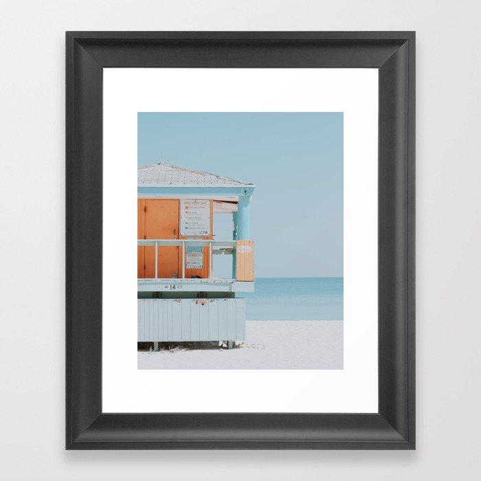 Santa Monica / California Gerahmter Kunstdruck