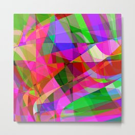 crank up the color Metal Print