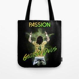 David Luiz Brazil Tote Bag