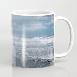 Cloudy Beach Morning Coffee Mug