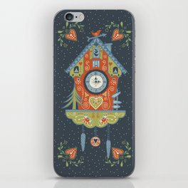 Cuckoo Clock iPhone Skin
