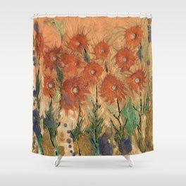 Sunny meadow Shower Curtain
