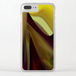 Draping Clear iPhone Case