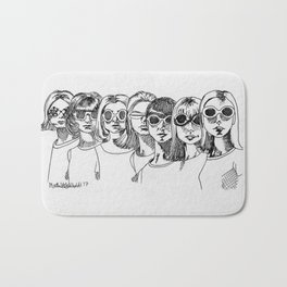 60s girls Bath Mat