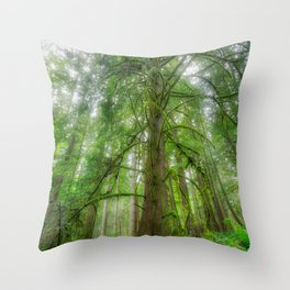 Ethereal Tree Throw Pillow