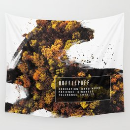 Hufflepuff Nature Wall Tapestry