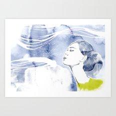 seacret 1 Art Print