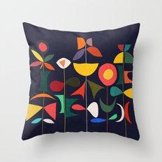 Klee's Garden Throw Pillow