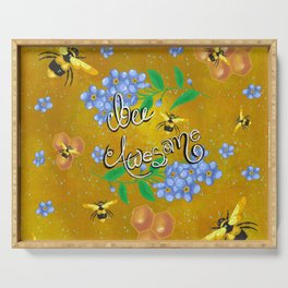 Bee awesome Serving Tray