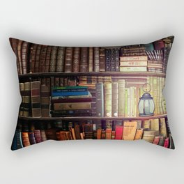 The Cozy Cottage Reading Nook Rectangular Pillow