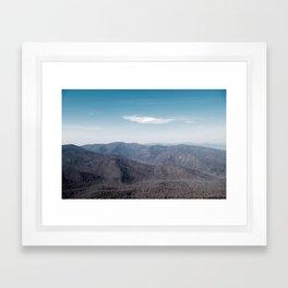 Old Rag Mountain in Shenandoah Virginia Framed Art Print