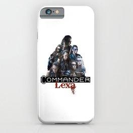 Commander Lexa iPhone Case