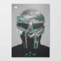 mf doom Canvas Prints featuring MF Doom by Alex Castro