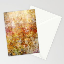 Mod Nature Trail Multicolor Pattern Stationery Cards