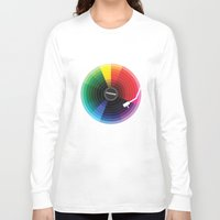 sound Long Sleeve T-shirts featuring Pantune - The Color of Sound by Davies Babies