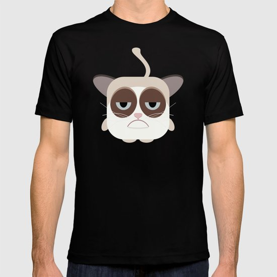 Grumpy Chubby Cat T-shirt