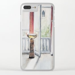 Summer afternoon at the Gardner Clear iPhone Case