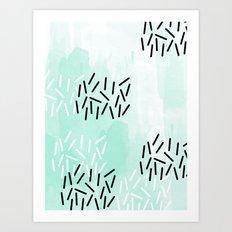 DASH DASH Art Print