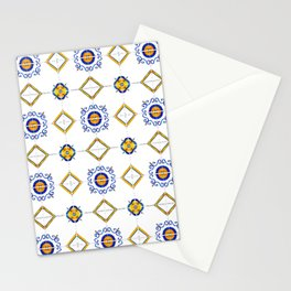 Majolica pattern Stationery Cards