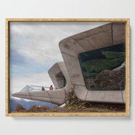 Messner Mountain Museum Corones  | Zaha Hadid Architects Serving Tray