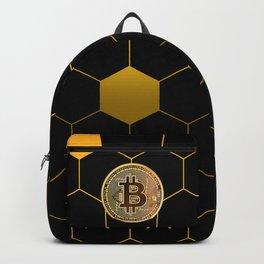 Bitcoin Bee Backpack
