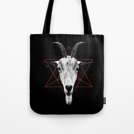 Satanic Goat | Occult Art Tote Bag