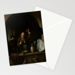 """Gerard Dou """"The Doctor"""" Stationery Cards"""