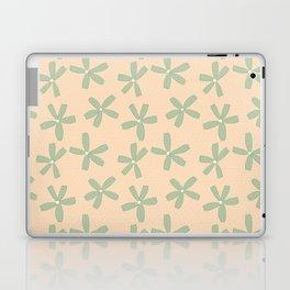 Green & Pink Floral Laptop & iPad Skin