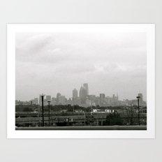 the city sleeps Art Print