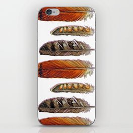 Raptor Feathers iPhone Skin