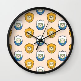 Tamago Chibi Finn & Jake Wall Clock