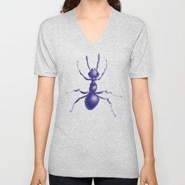 Purple Ant Unisex V-Neck