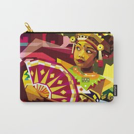 Balinese Dancer in WPAP Carry-All Pouch