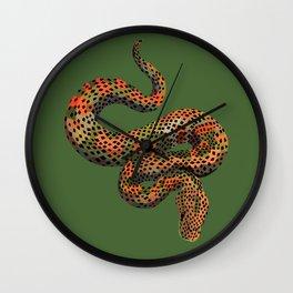 Snarly Snake Wall Clock