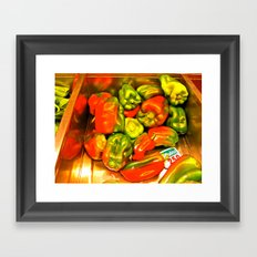 Peppers Framed Art Print