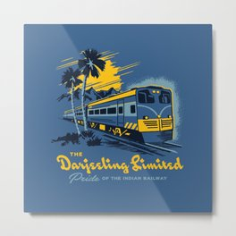 THE DARJEELING LIMITED Metal Print