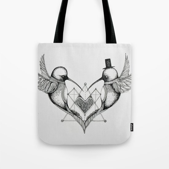 'Humming Birds' Tote Bag