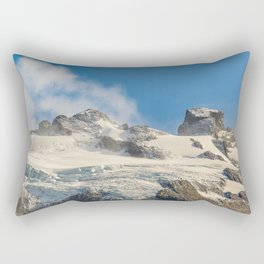 Snowy Andes Mountains, Patagonia - Argentina Rectangular Pillow