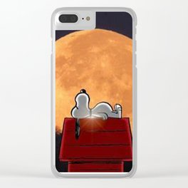 snoopy chritsmas Clear iPhone Case