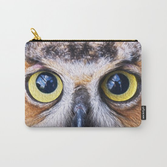 Big Eye Owl Carry-All Pouch