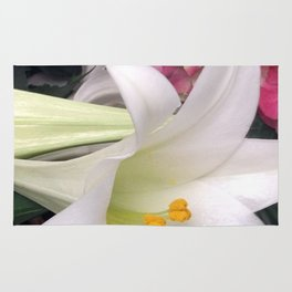 Easter Lily Rug