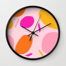 Party Time (Pink) Wall Clock
