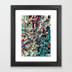 Weird Surface Framed Art Print