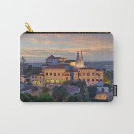 Palacio Nacional de Sintra at dusk, Portugal Carry-All Pouch
