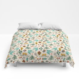 Mexican Folk Art Comforters