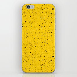 Speckled Yellow iPhone Skin