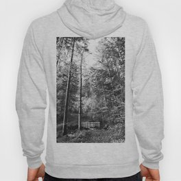 Forest black and white 14 Hoody