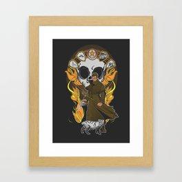 First Storm Framed Art Print