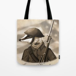 Sergeant Humphreys Tote Bag